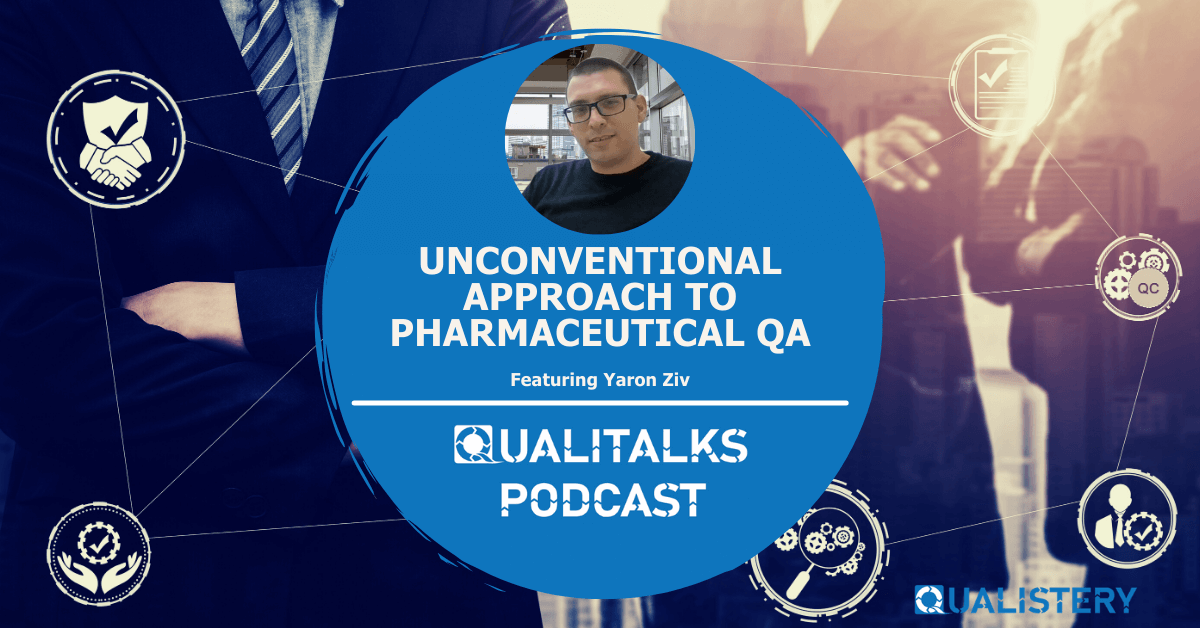 Unconventional Approach to Pharmaceutical QA and GMP