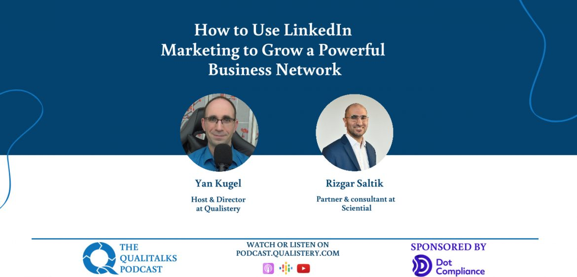 How to Use LinkedIn Marketing to Grow a Powerful Business Network with rizgar